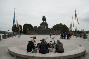 Deutsches Eck mit Kaiser-Wilhelm Denkmal