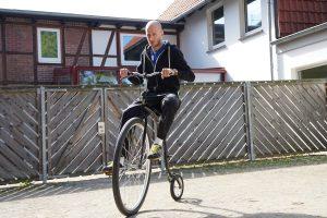 Testfahrt im Radhaus in Einbeck